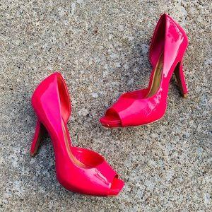 Jessica Simpson Josette Wild Pink Pink Heels NWT